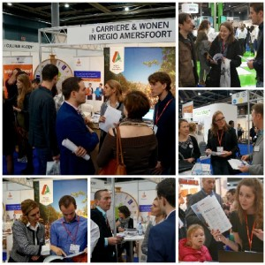 Collage foto's Carrierebeurs