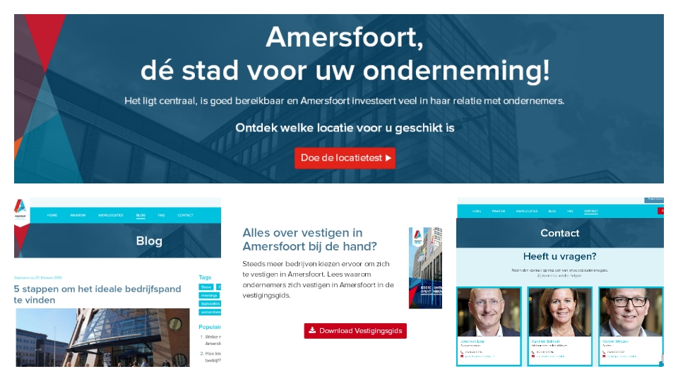 Website collage Amersfoort Business