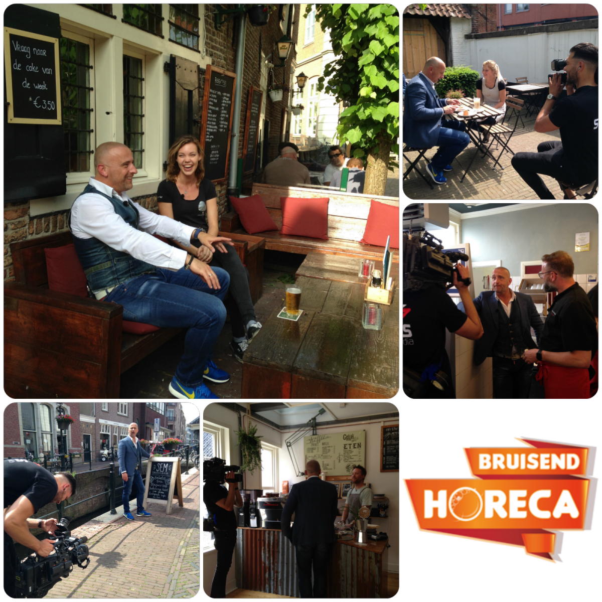 Bruisend Horeca collage